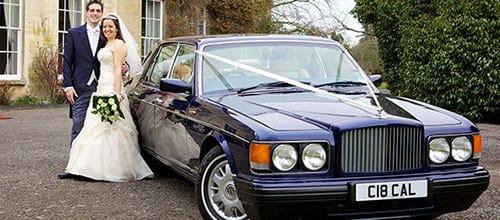 Bentley-Brooklands-Wedding-Car
