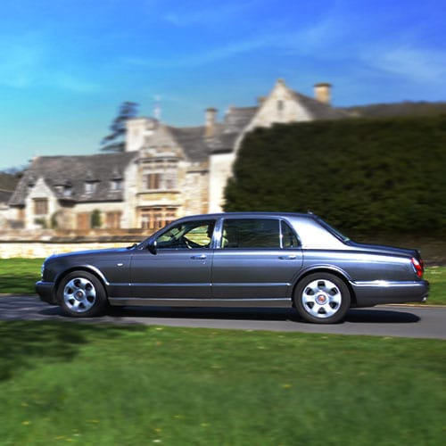 Bentley Groom's car Cheltenham from Azure Wedding Cars