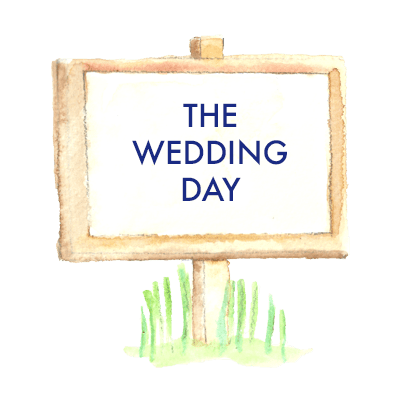 The wedding day