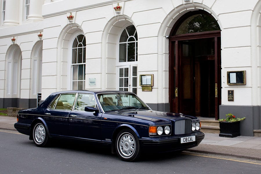 Azures Wedding Services Azure Wedding Cars - Bentley chauffeur