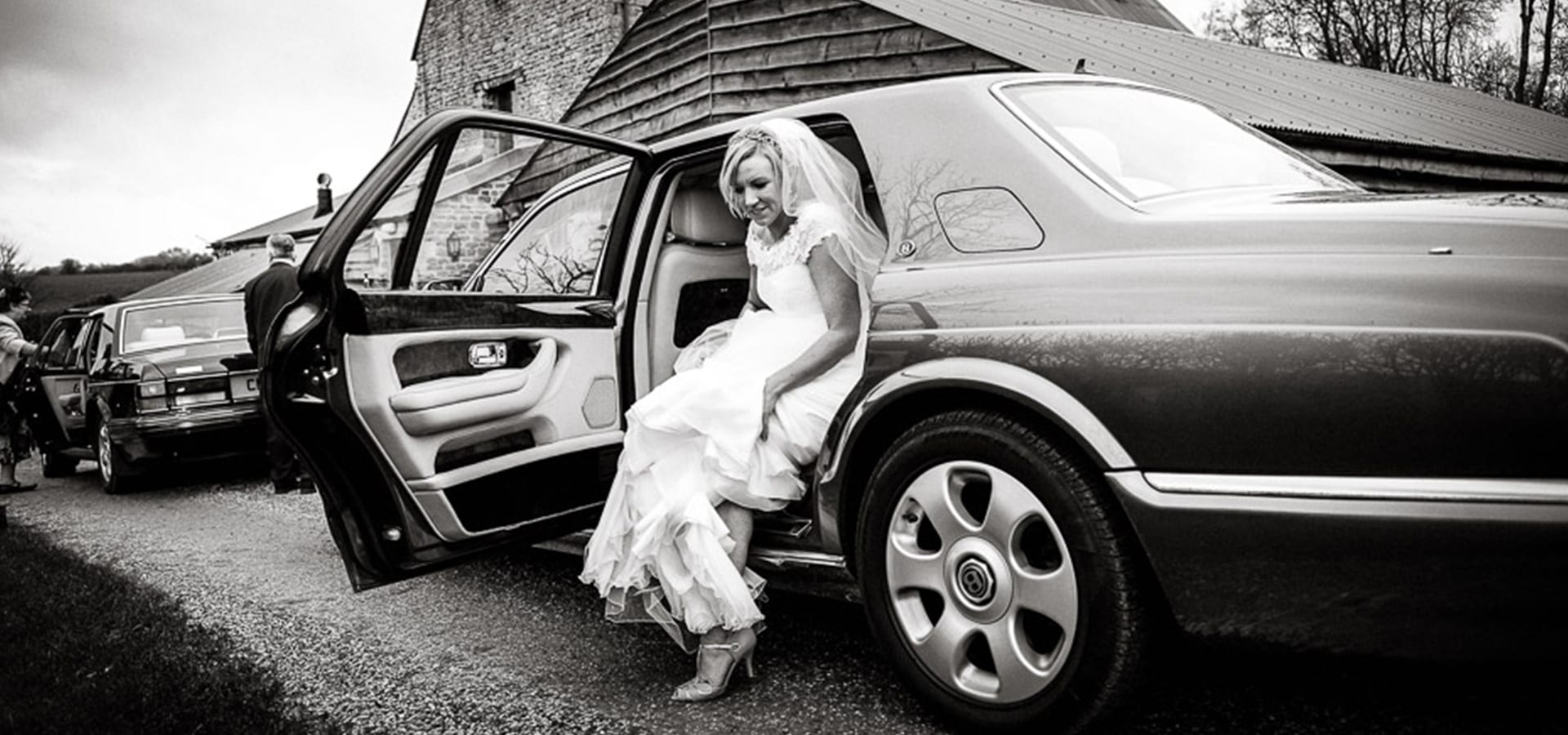 The Bentley Arnage wedding car is the perfect choice for the bridal car in Gloucestershire