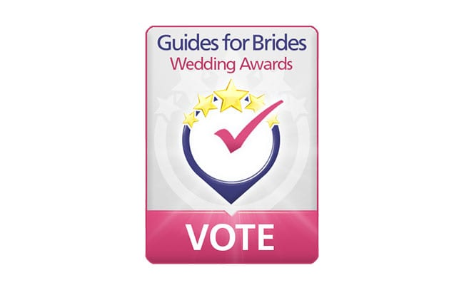 Vote for Azure Wedding Cars in the Guides for Brides Wedding Awards 2017