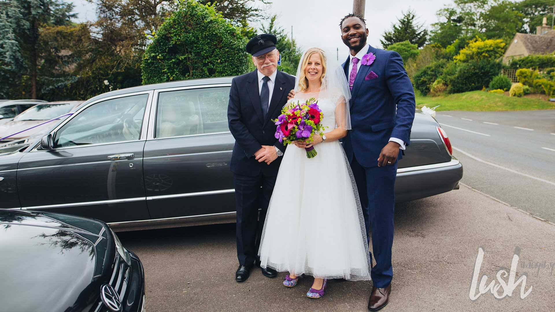Michael And Lucy Azure Wedding Cars - Bentley chauffeur