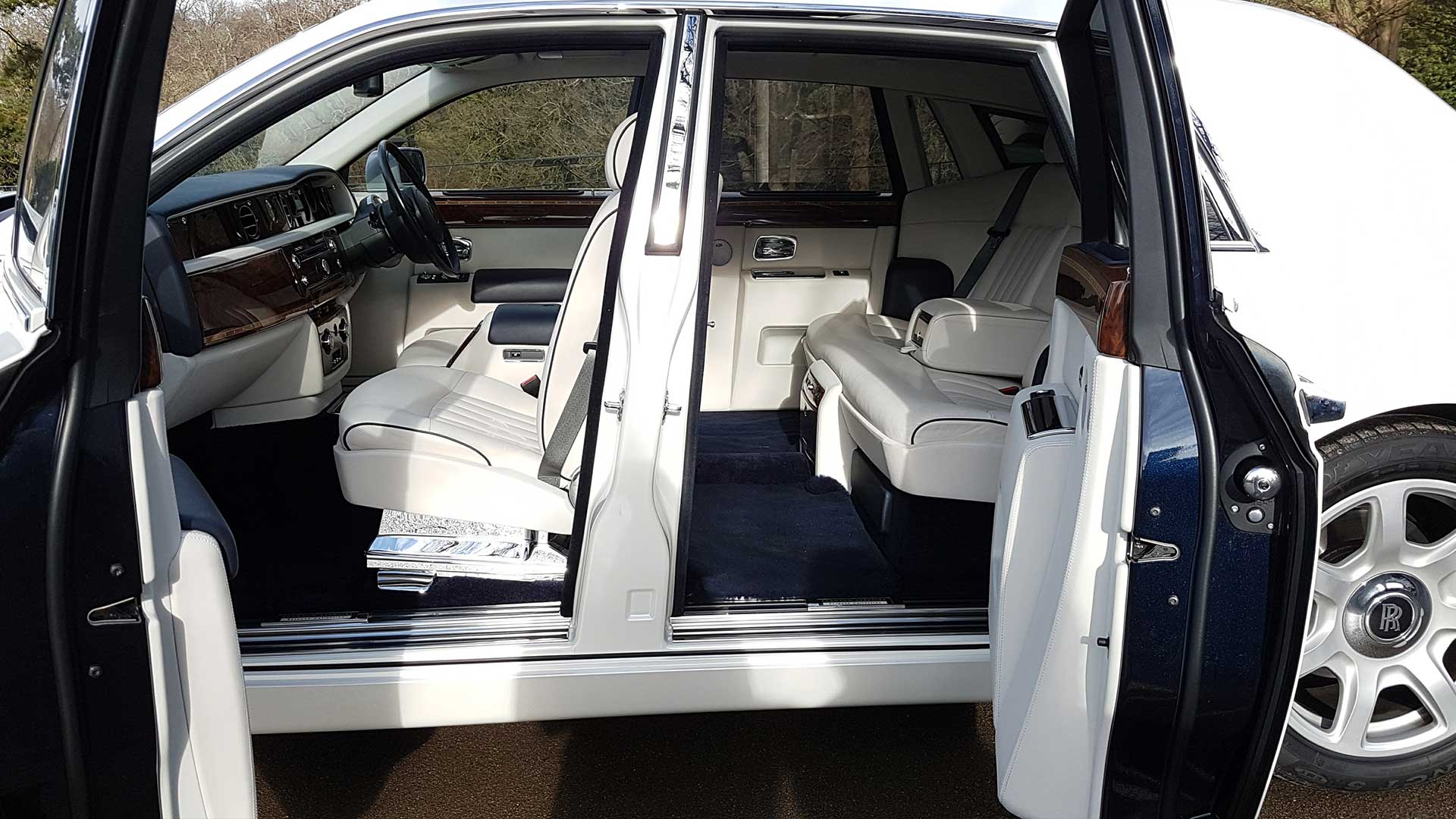 Rolls-Royce Phantom Rear Opening Doors