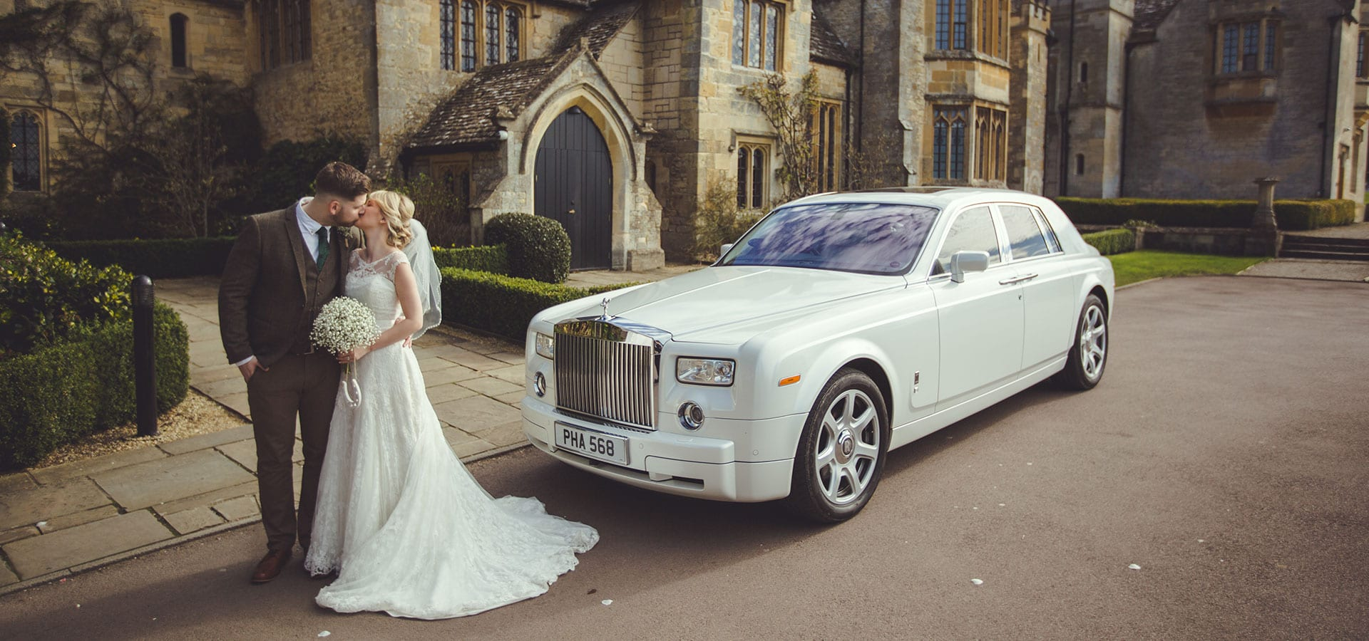 Rolls-Royce-Phantom-Wedding-Car-Ellenborough-Couple